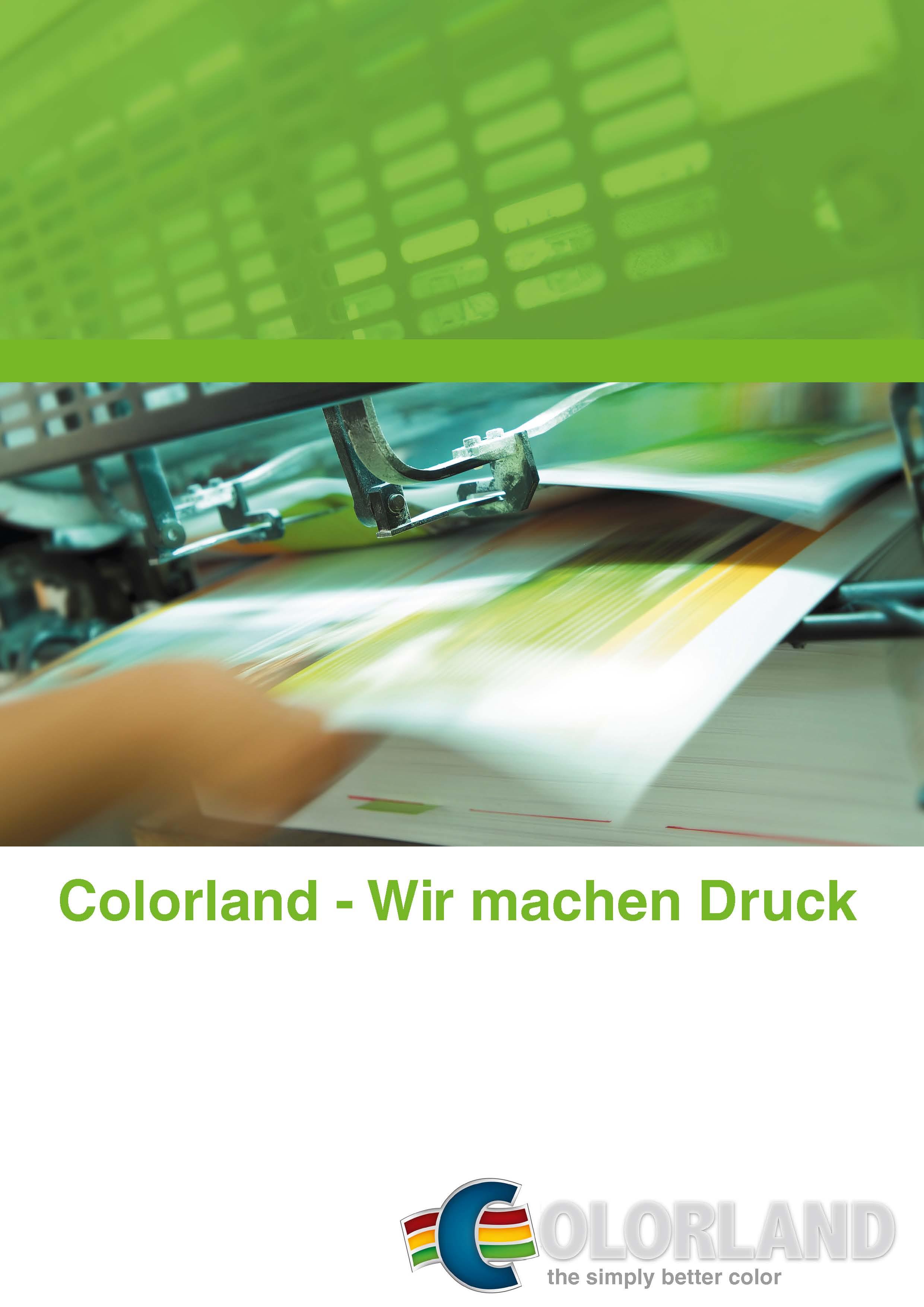 Colorland Infobroschüre